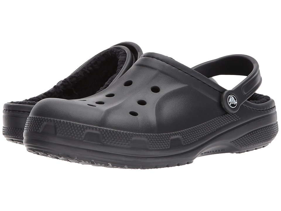 Crocs - Ralen Lined Clog (Black/Black) Slippers