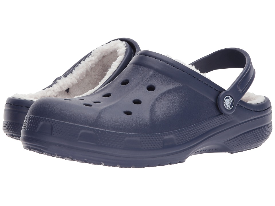 Crocs - Ralen Lined Clog (Nautical Navy/Oatmeal) Slippers
