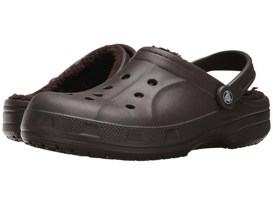 Crocs - Ralen Lined Clog (Espresso/Espresso) Slippers