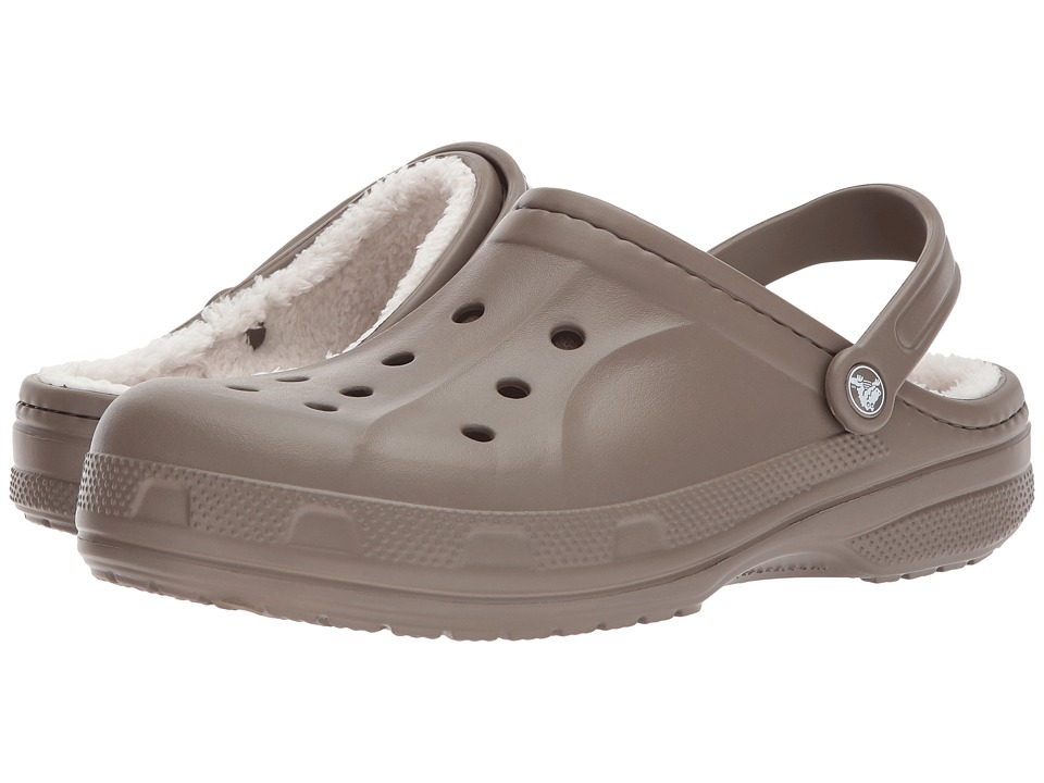 Crocs - Ralen Lined Clog (Walnut/Oatmeal) Slippers