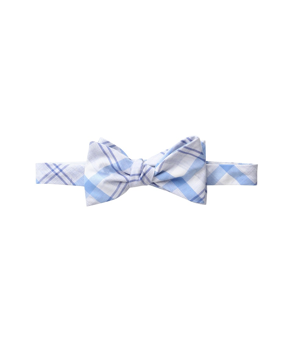 Vineyard Vines - Stony Bay Plaid Woven Bow (Ocean Breeze) Ties