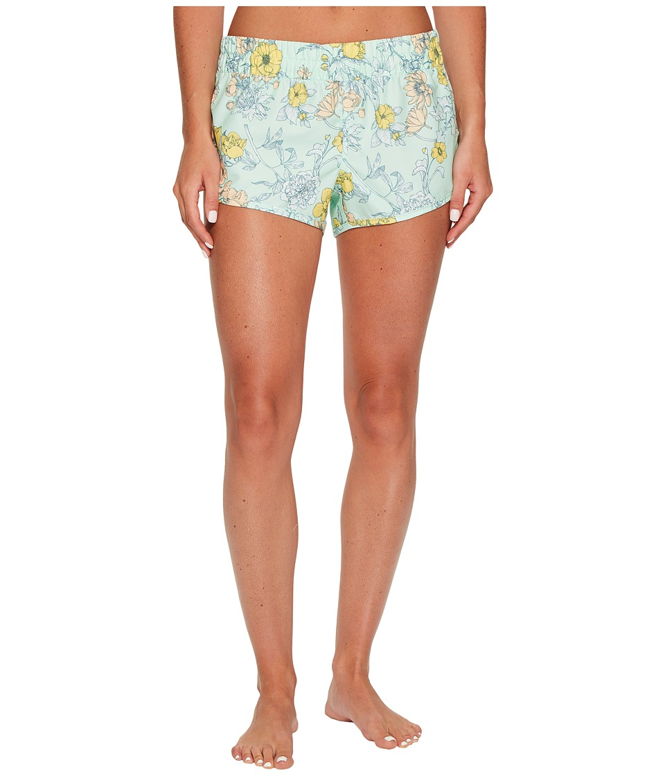Hurley Ventura Beachrider Supersuede Boardshorts (Mint Foam) Women