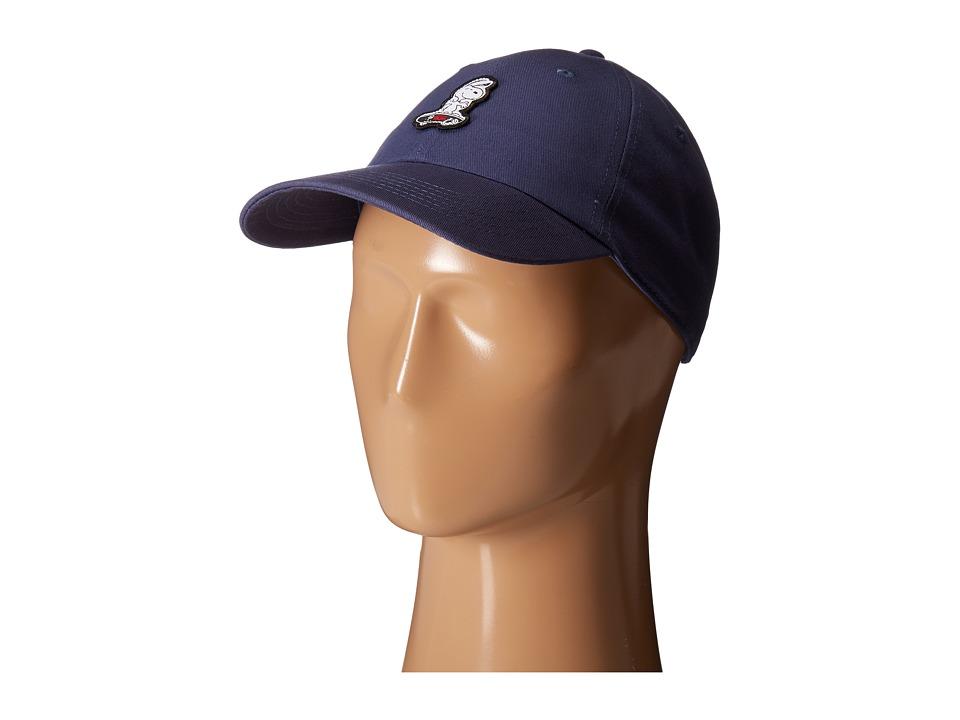 Vans - Peanuts Court Side Hat (True Navy) Caps
