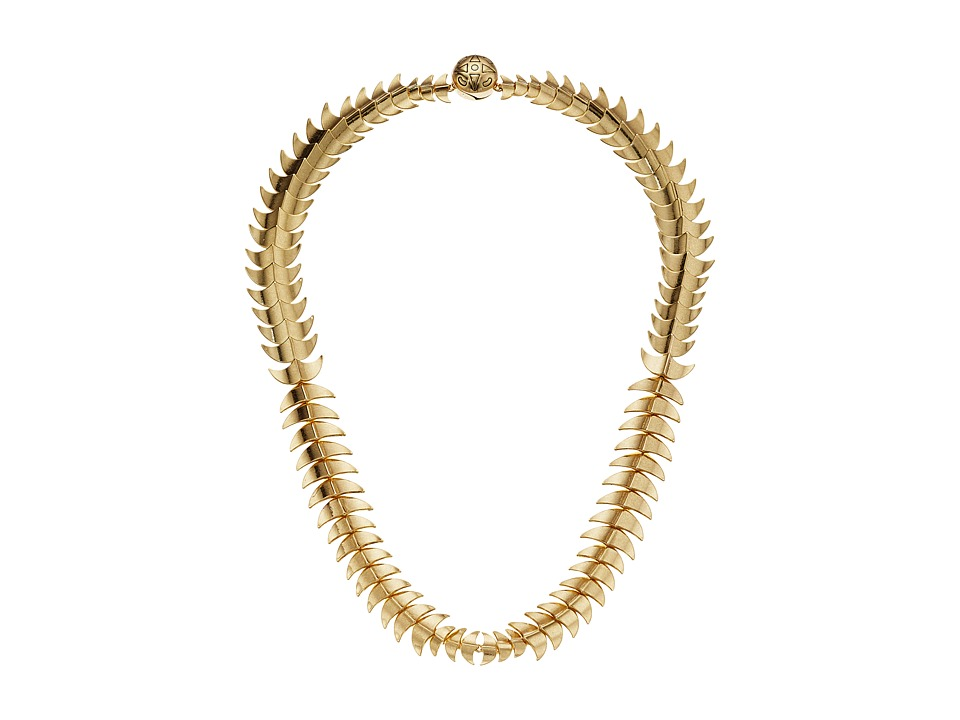House of Harlow 1960 - Dorado Link Necklace (Gold) Necklace