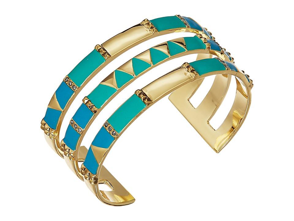 House of Harlow 1960 - Nelli Cuff Bracelet (Gold) Bracelet