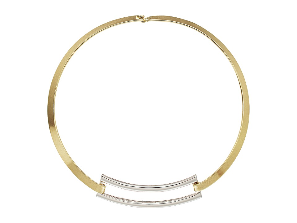 House of Harlow 1960 - Coronado Statement Necklace (Gold/Silver) Necklace