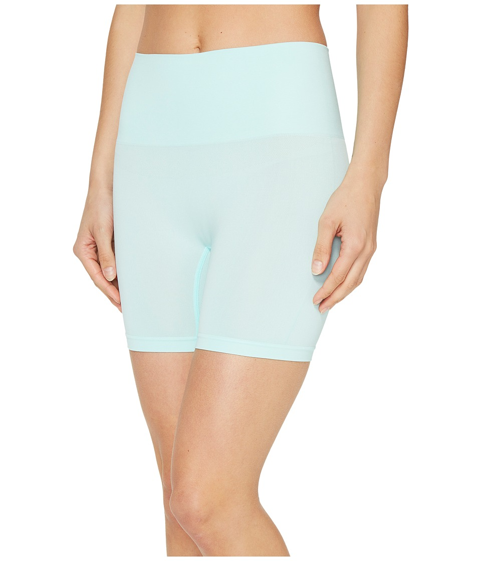 Jockey - Slimmers Seamfree Shorts (Icy Teal) Women's Shorts