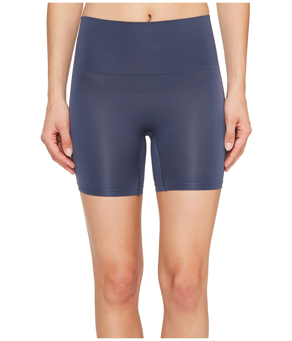 Jockey - Slimmers Seamfree Shorts (Dirty Denim) Women's Shorts