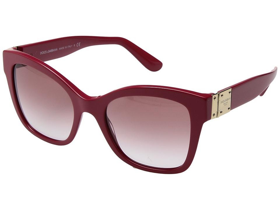 Dolce & Gabbana - 0DG4309 (Fuchsia/Pink Gradient) Fashion Sunglasses