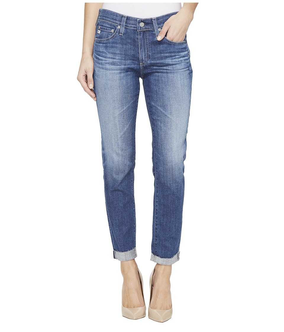 AG Adriano Goldschmied - The Beau Slouchy Skinny in 10 Years Dispatch (10 Years Dispatch) Women's Jeans