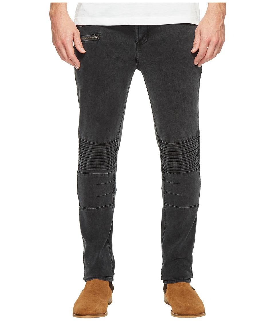 nANA jUDY - Moto Jeans in Vintage Black (Vintage Black) Men's Jeans