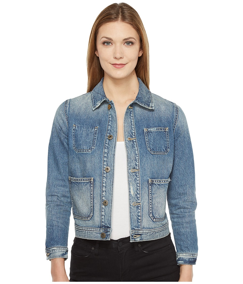 Image of AG Adriano Goldschmied - Andy Jacket (17 Years Stone Cliffs) Women's Coat