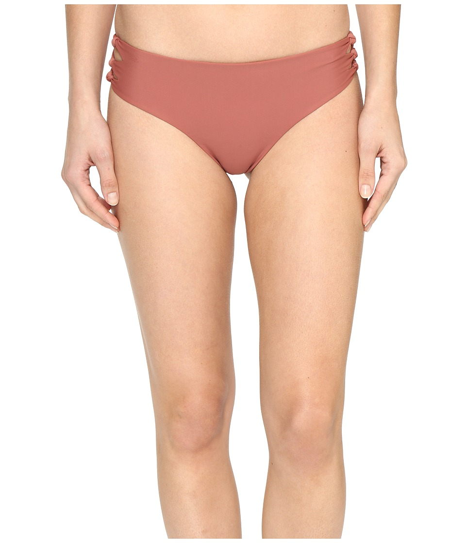 MIKOH SWIMWEAR - Hanalei Bottom (Lychee) Women's Swimwear