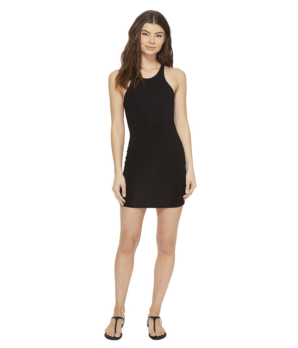 MIKOH SWIMWEAR - Honolua High Neck Sporty Fit Mini Dress (Night) Women's Dress
