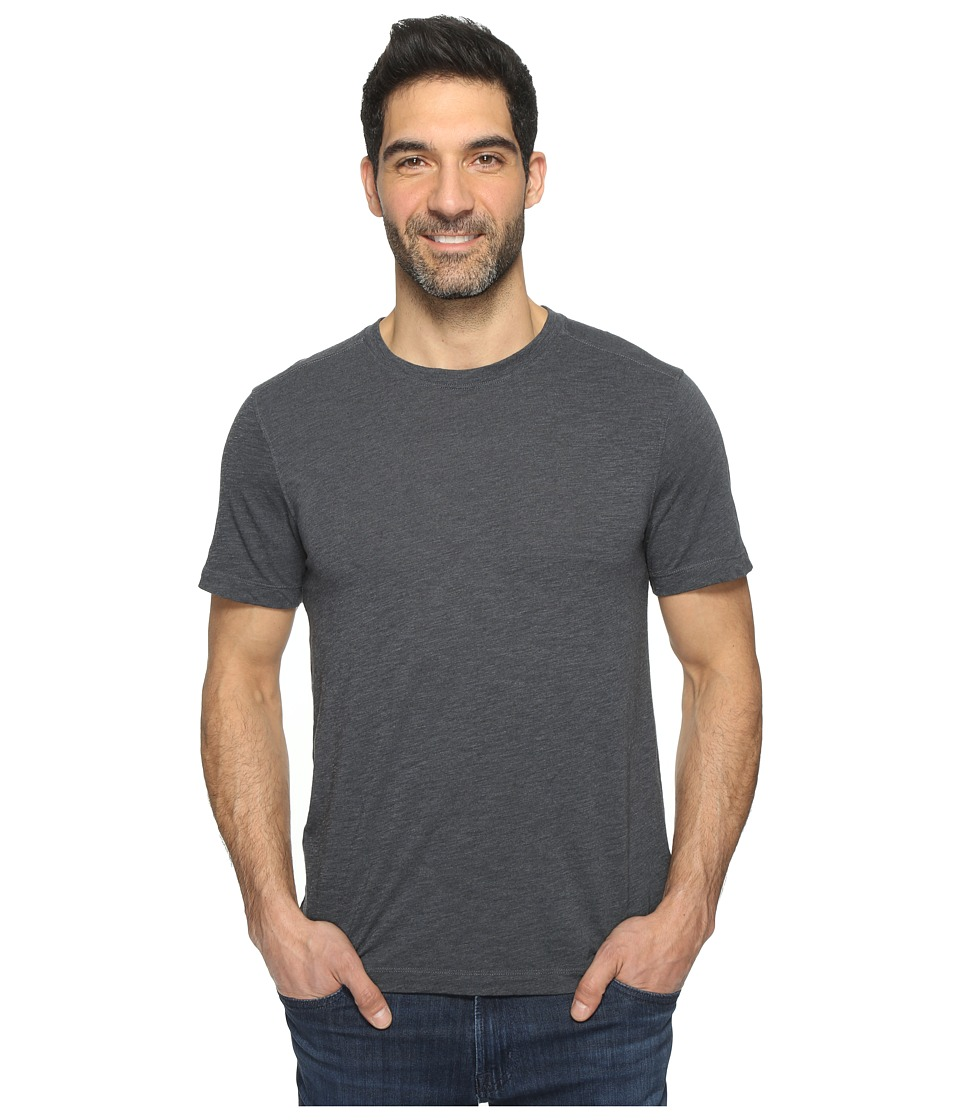 Agave Denim - Mickey Short Sleeve Crew Tri-Blend Jersey (Ombre Blue) Men's Clothing