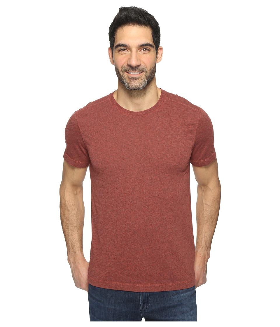 Agave Denim - Mickey Short Sleeve Crew Tri-Blend Jersey (Tandoori Spice) Men's Clothing