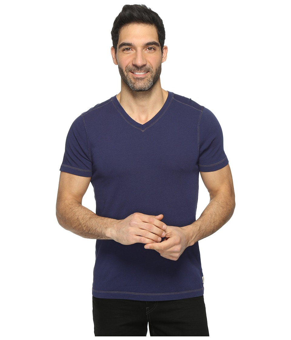 Agave Denim - Rusty Short Sleeve V-Neck Tee (Eclipse) Men's Clothing