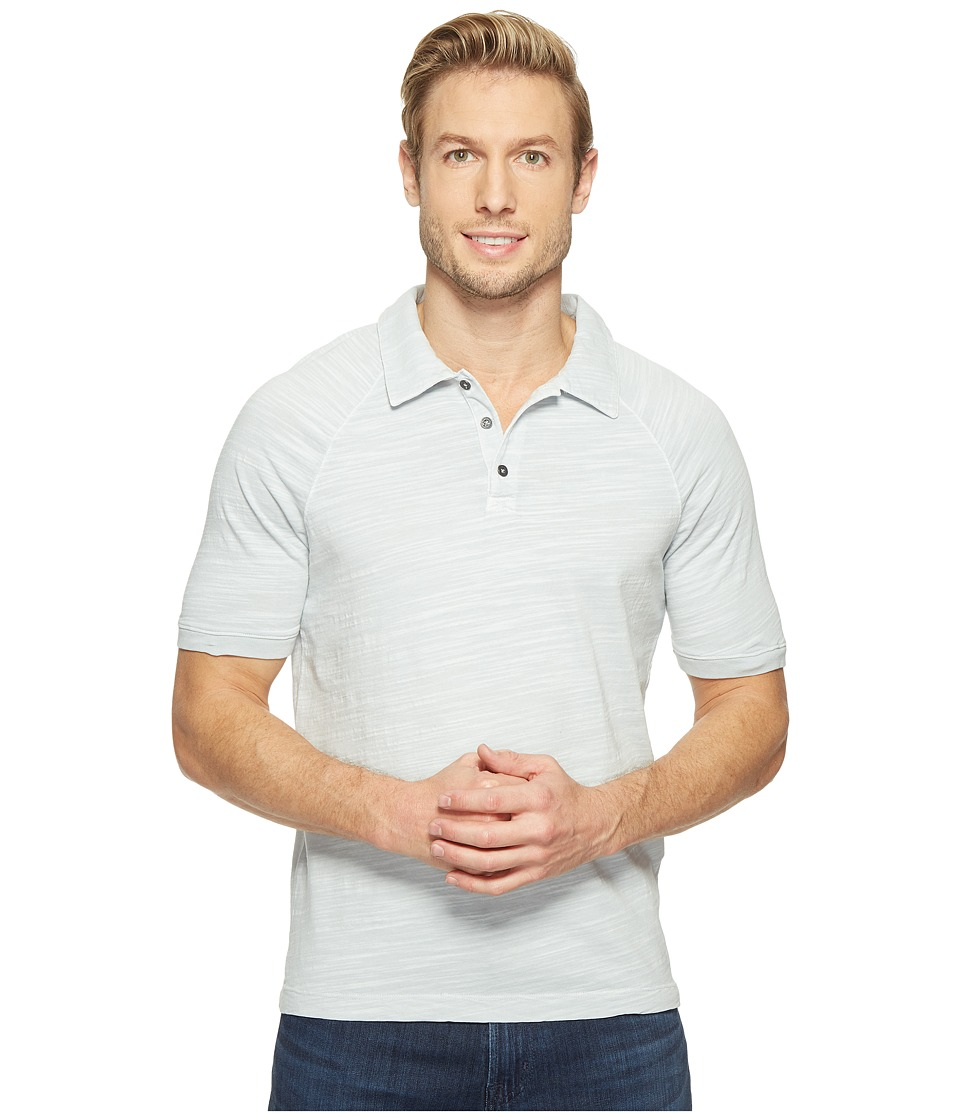 Agave Denim - Dingo Short Sleeve Polo Vintage Slub (High-Rise) Men's Short Sleeve Pullover