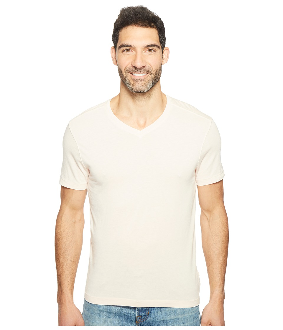 Agave Denim - Kerbox Short Sleeve V-Neck Supima Modal (Spanish Villa) Men's Short Sleeve Pullover