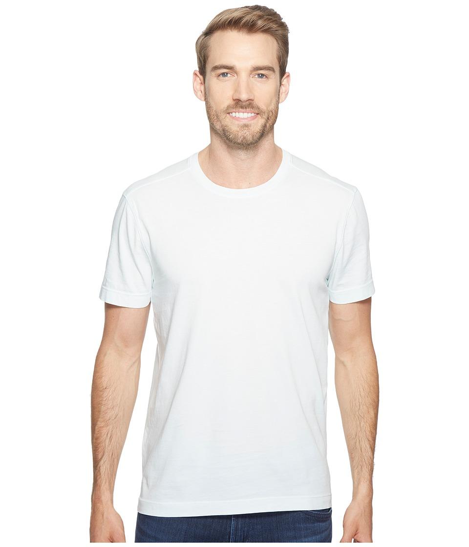 Agave Denim Agave Supima Crew Neck Short Sleeve Tee (Wan Blue) Men's T Shirt