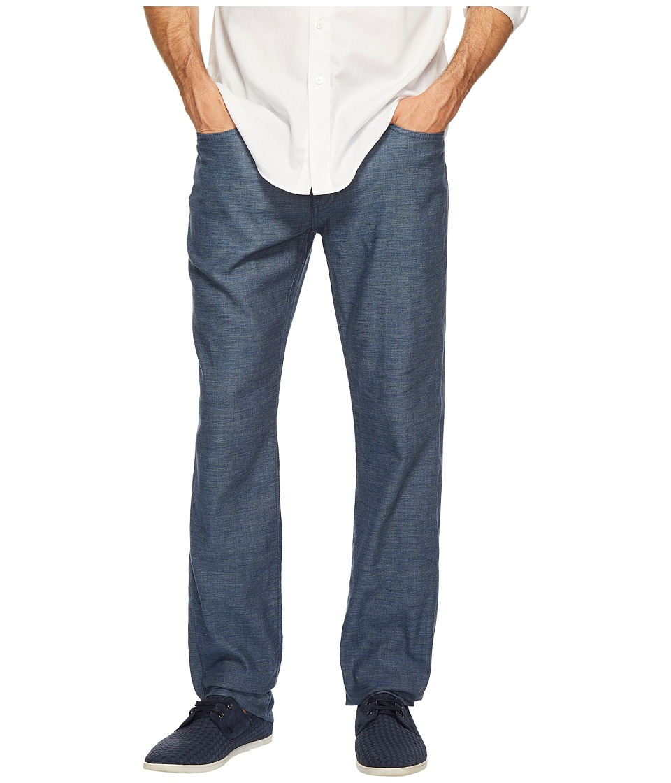 Agave Denim - Classic Straight Coco Melange Twill in Blue Sand (Blue Sand) Men's Clothing