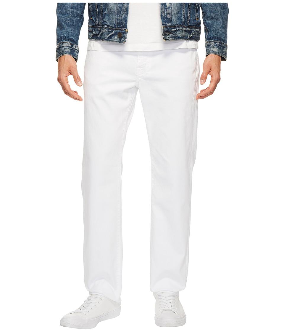 Agave Denim - Classic Straight Rincon Twill in White (White) Men's Clothing