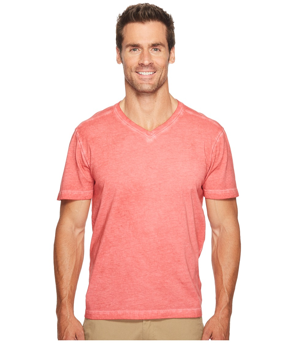 Agave Denim Skipfry Short Sleeve V-Neck Antique Wash (Tandoori Spice) Men's T Shirt
