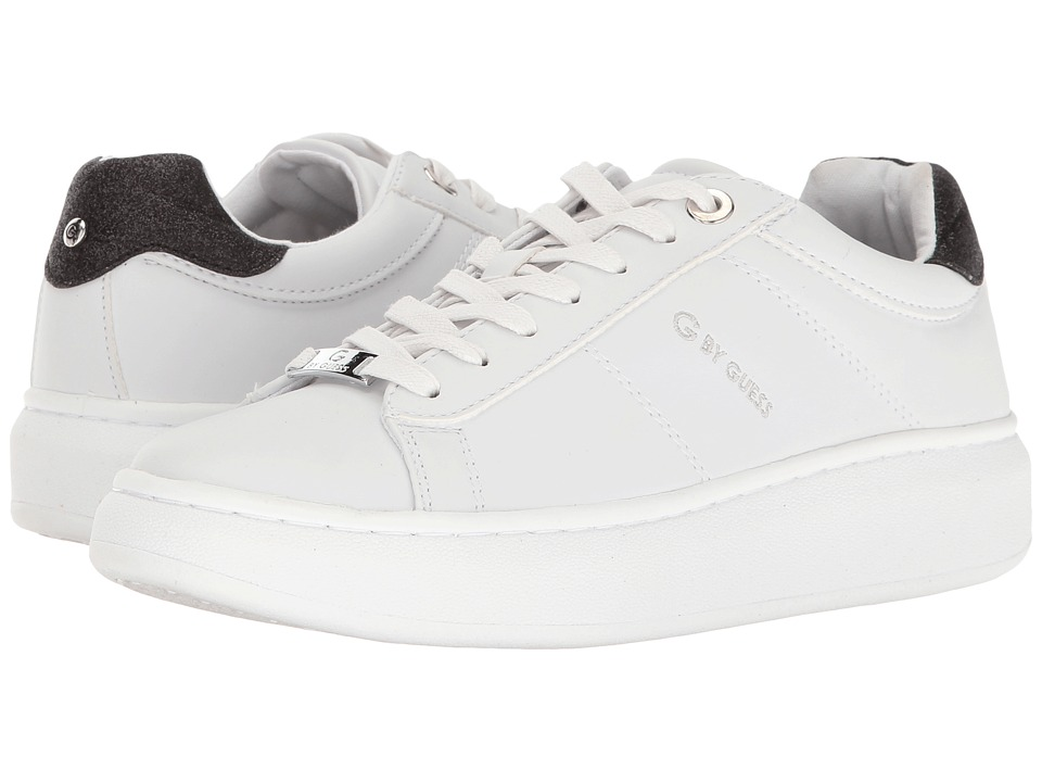 G by GUESS Charly (White/Black) Women