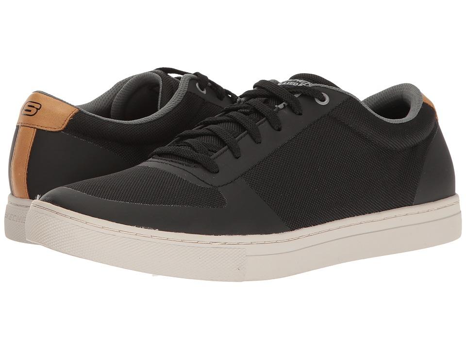 SKECHERS - Elvino (Black Nylon) Men's Lace up casual Shoes