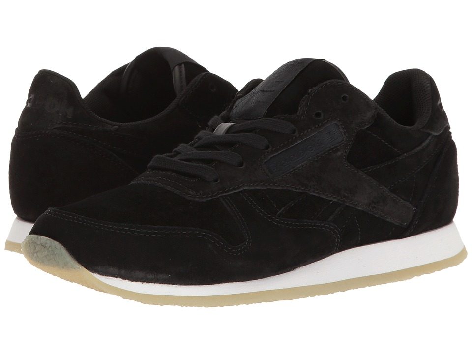 Reebok - Classic Leather Crepe Neutral Pop (Black/White) Women's Shoes