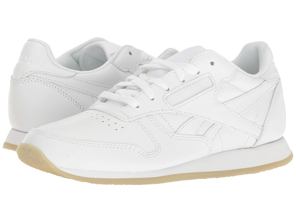 Reebok - Classic Leather Crepe Neutral Pop (White/White) Women's Shoes