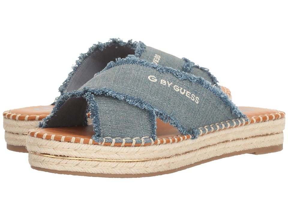 G by GUESS - Kansas (Denim) Women's Shoes