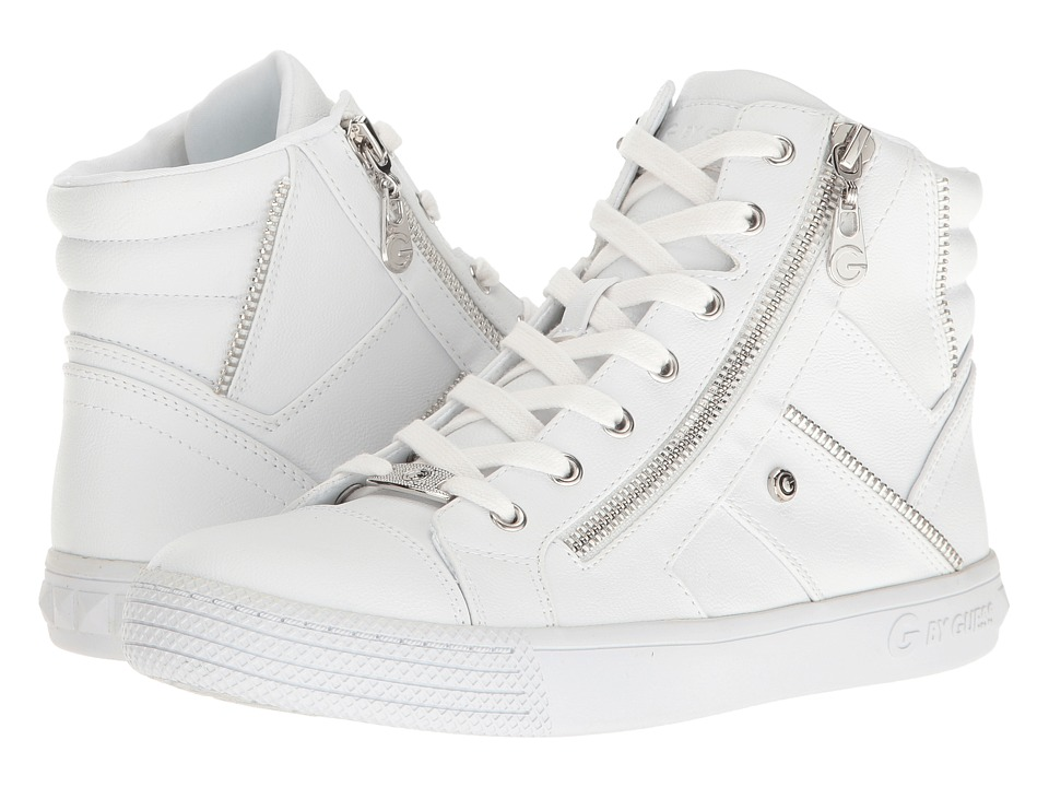 G by GUESS - Maker (White) Women's Shoes