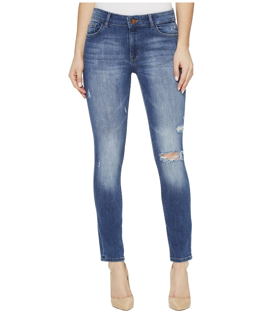 DL1961 Margaux Instasculpt Ankle Skinny Jeans in Stealth (Stealth) Women