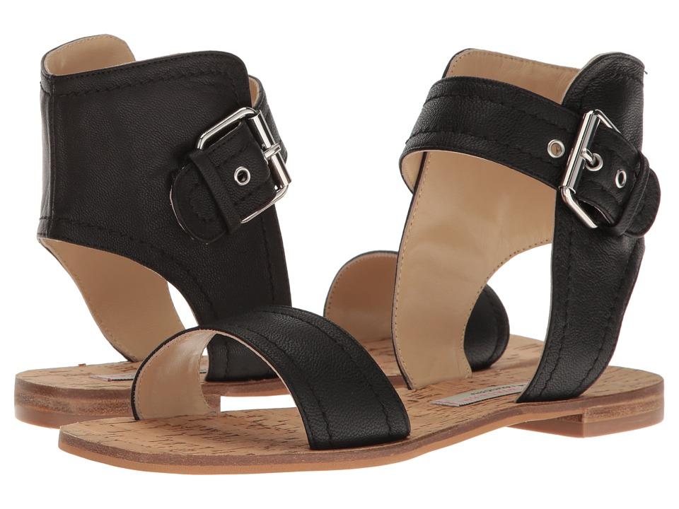 Kristin Cavallari Tasteful Leather Sandal (Black) Women