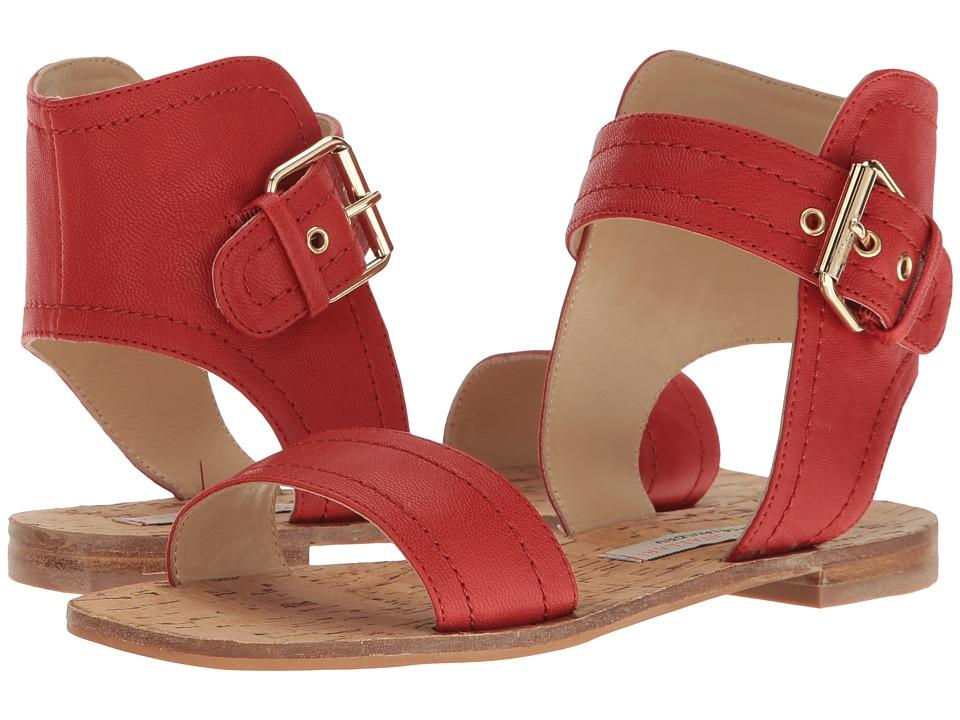 Kristin Cavallari Tasteful Leather Sandal (Red) Women