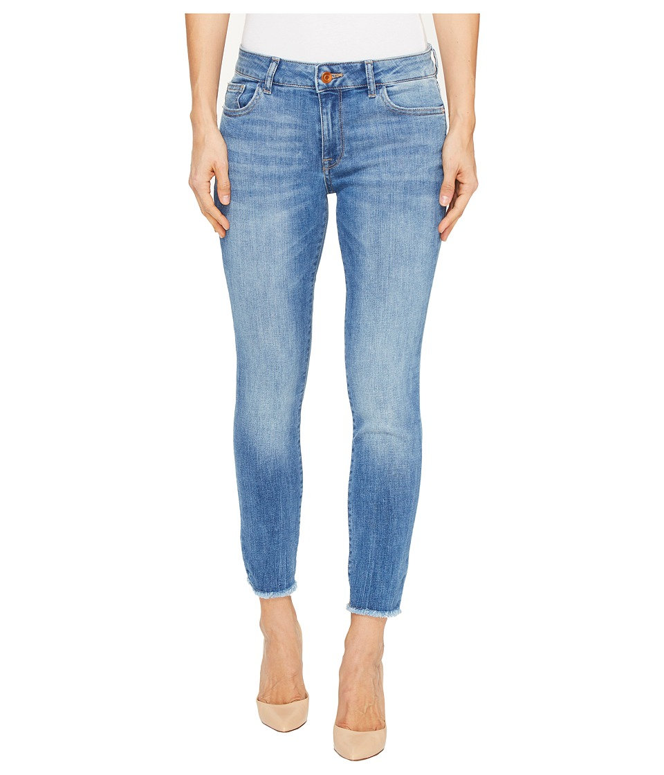 DL1961 Florence Instasculpt Ankle Crop Jeans in Nugget (Nugget) Women