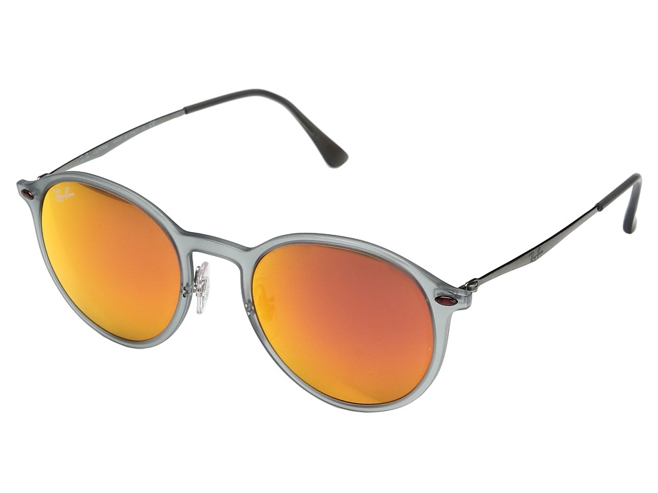 a3d1272c68a ... Rb4224 650 6q Round Grey silver EAN 8053672441192 product image for Ray- Ban - 0RB4224 (White Multi) Fashion ...