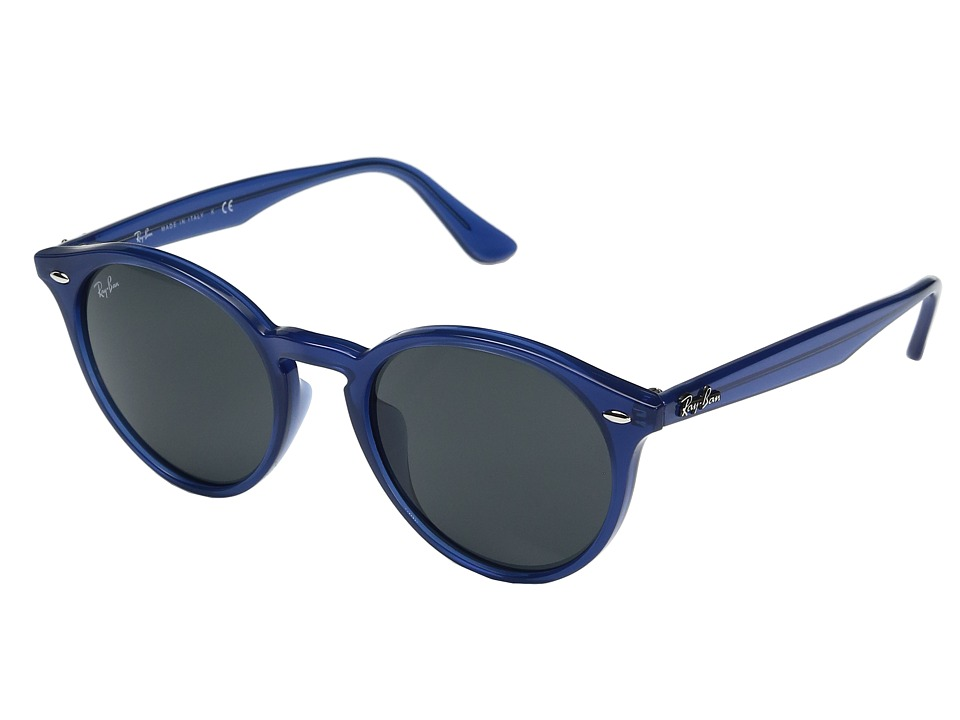 Ray-Ban - 0RB2180F (Blue) Fashion Sunglasses