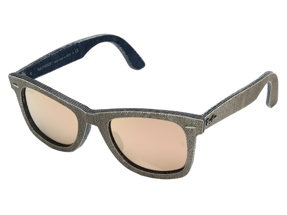 Ray-Ban - 0RB2140F (Grapefruit) Fashion Sunglasses