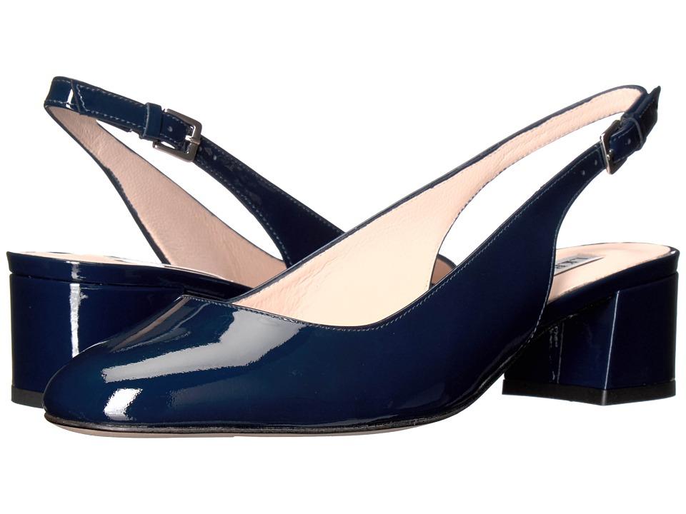 L.K. Bennett - Chloe (Blue/Navy Patent) High Heels