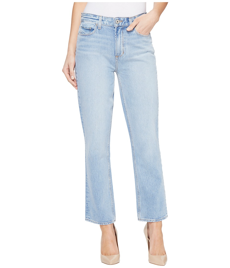 Paige - High-Rise Sarah Straight in Sachi (Sachi) Women's Jeans
