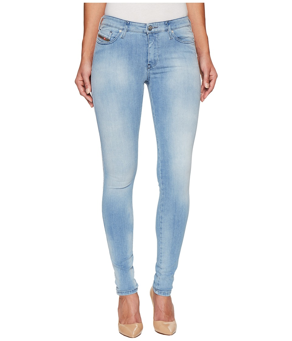 Diesel Skinzee L.32 Trousers 84CR (Denim) Women