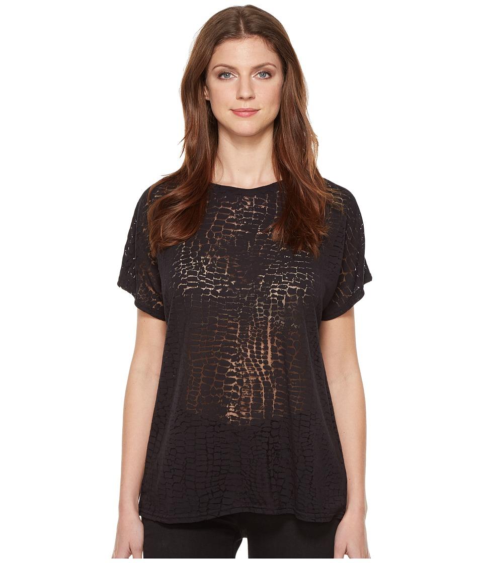 Diesel - T-Hanna-AB T-Shirt (Black) Women's T Shirt