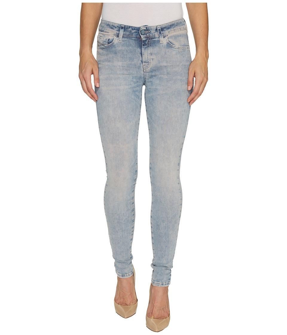 Diesel - Slandy L.32 Trousers 84CQ (Denim) Women's Jeans