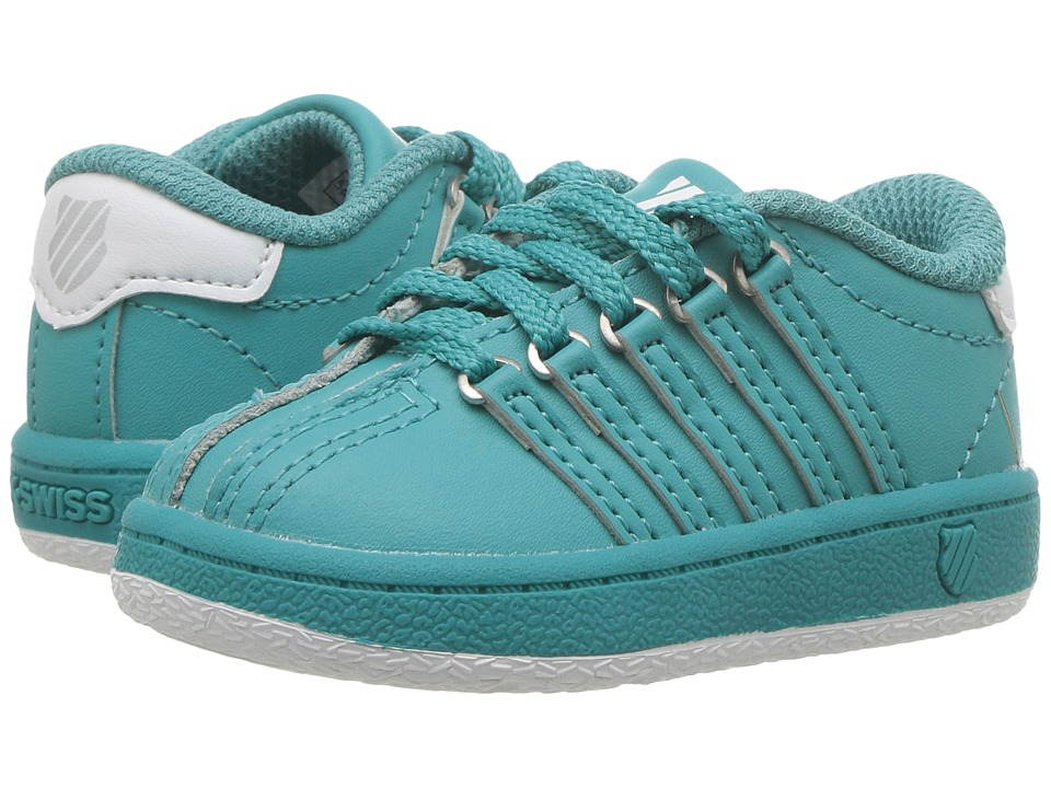 K-Swiss Kids - Classic VN (Infant/Toddler) (Baltic/White) Kids Shoes