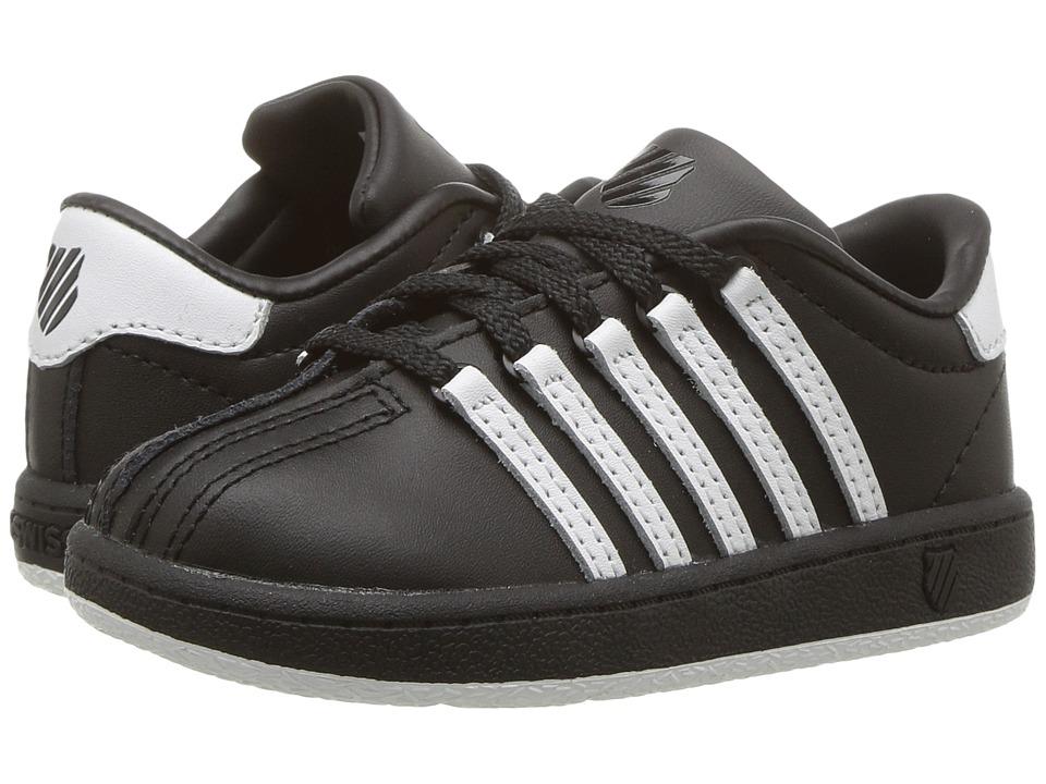 K-Swiss Kids - Classic VN (Infant/Toddler) (Black/White/White) Kids Shoes