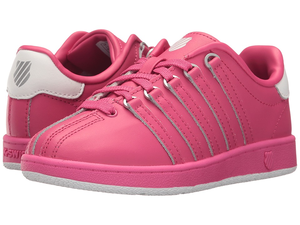 K-Swiss Kids - Classic VN (Little Kid) (Beetroot Purple/White) Kids Shoes