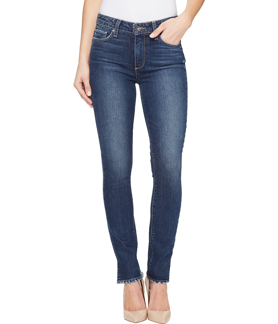 Paige - Hoxton Ankle Peg w/ Side Slit in Ivy (Ivy) Women's Jeans