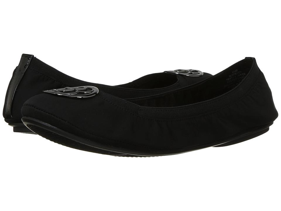 Bandolino Eritto (Black Lycra/Sleek Patent PU/Sleek Elastic) Women